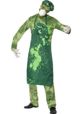 Costume infetto dall'agente biologico per l'uomo