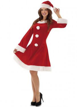 Disfraz Mamá Noel para Mujer talla M-L para Navidad