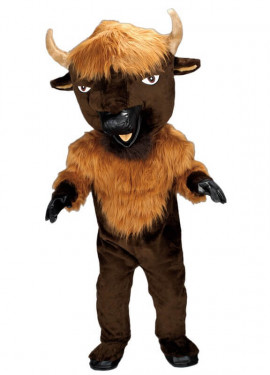 Disfraz Mascota Bisonte para adultos
