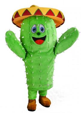 Disfraz Mascota Cactus para adultos