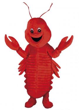 Disfraz Mascota Cangrejo de Río para adultos