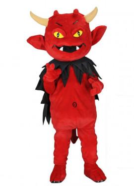 Disfraz Mascota Demonio travieso para adultos
