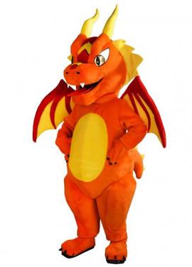 Disfraz Mascota Dragón para adultos