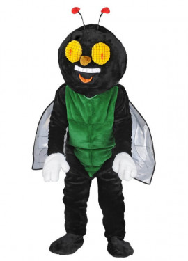 Disfraz Mascota Mosca feliz para adultos