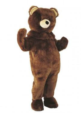 Disfraz Mascota Oso de peluche para adultos