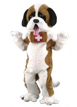 Disfraz Mascota Perro San Bernardo para adultos