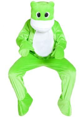Disfraz Mascota Rana para adultos