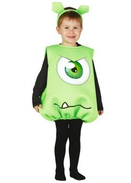 Disfraz Monstruito Baby verde