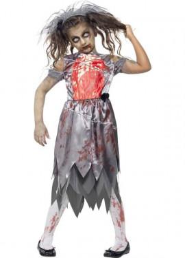 Déguisement de Mariée Zombie pour fille plusieurs tailles