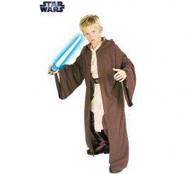 Disfraz o Capa con capucha Jedi Deluxe de Star Wars para niño