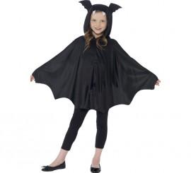 Disfraz o capa de Murciélago para niños de 4 a 9 años