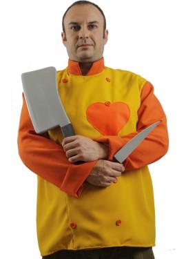 Déguisement Chef Cuisinier avec Coeur pour homme
