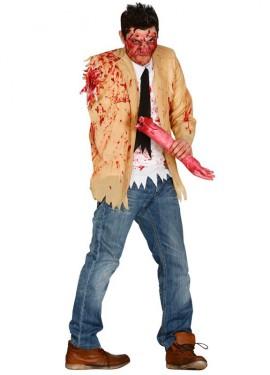 Déguisement ou Veste de Zombie Amputé pour homme.