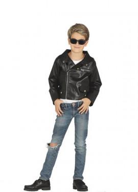 Disfraz o Chaqueta imitación Cuero para niño
