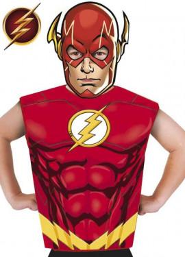 705df3644 Disfraz o Kit de Flash para niños  Máscara y Camiseta