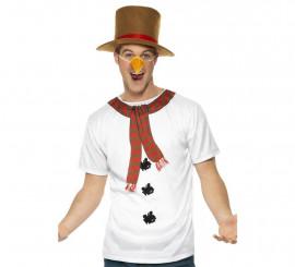 Disfraz o Kit de Muñeco de Nieve para hombre