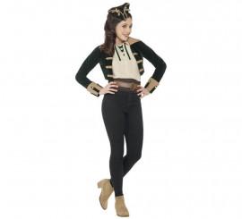 Disfraz o Kit de Pirata Vintage sin pantalones para mujer