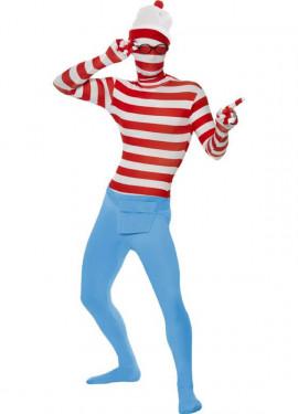 Disfraz o Mono Segunda Piel de Dónde Está Wally