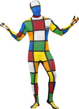 Disfraz o Mono Segunda Piel del Cubo de Rubik