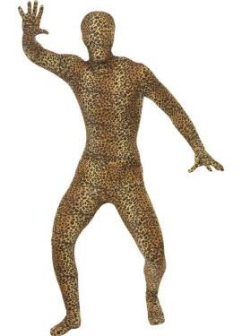 Disfraz o Mono Segunda Piel Leopardo