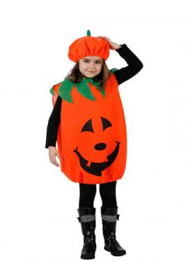Disfraz o Tabardo de Calabaza para niños