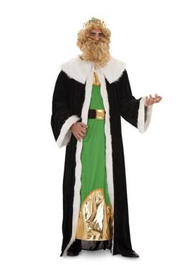 Disfraz o traje de Rey Mago Gaspar de hombre talla M-L