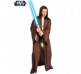 Disfraz o Túnica Jedi Clásica de Star Wars para hombre
