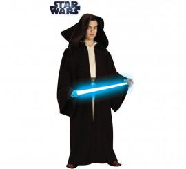 Disfraz o Túnica Jedi Premium de Star Wars para niño