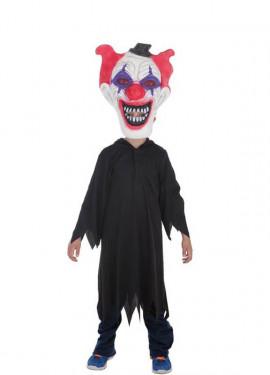 Déguisement ou Tunique Noire d'Halloween pour garçon