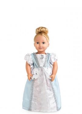 Disfraz o Vestido para muñeca de Cenicienta