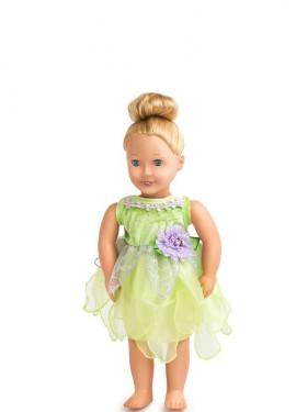Disfraz o Vestido para muñeca de Hada Campanilla