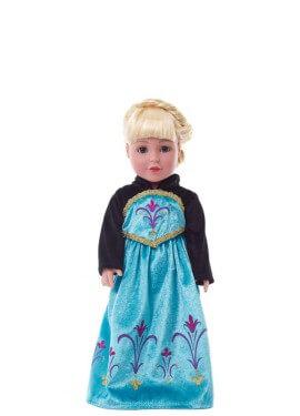 Déguisement ou Robe pour Poupée Reine des Neiges.