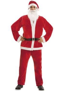 Disfraz Papá Noel para Hombre talla M-L para Navidad
