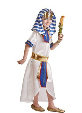 Déguisement de Pharaon Égyptien pour enfants plusieurs tailles