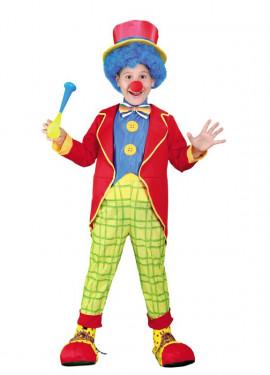 Déguisement Enfants Garçon Clown Coloré plusieurs tailles
