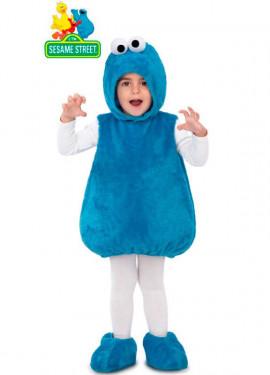 Disfraz Peluche de Monstruo de las Galletas para niños y bebé
