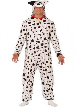 Disfraz Pijama de Dálmata para adultos