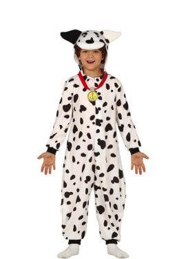 Costume da pigiama dalmata per bambini