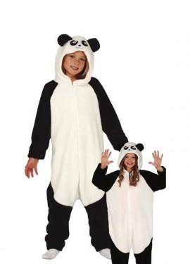 Disfraz Pijama de Oso Panda para niños