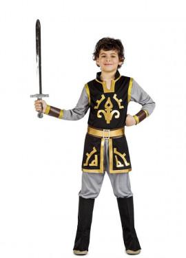 Disfraz Príncipe Medieval Carta para niño