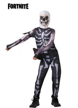 Disfraz Skull Trooper Fortnite para niños y adolescentes