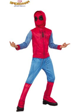 Disfraz Spiderman Homecoming con Capucha para niño