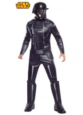 Disfraz Stront Negro Deluxe de Star Wars para hombre