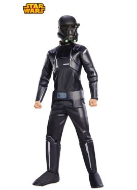 Disfraz Stront Negro Premium de Star Wars para niño