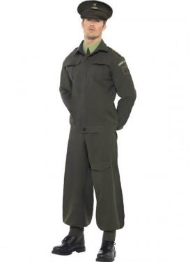 Disfraz Teniente Guardia Nacional 2ª GM para Hombre