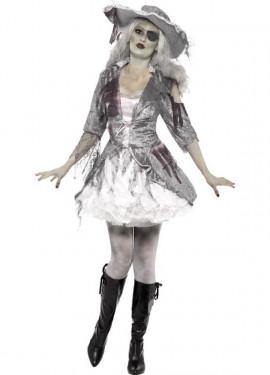 Disfraz Tesoro Pirata de Barco Fantasma para Mujer