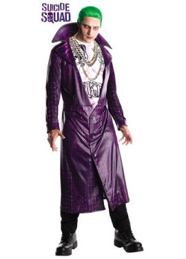Disfraz The Joker Deluxe de Escuadrón Suicida para hombre