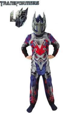 Disfraz Transformers Optimus Prime para Niño
