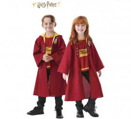Disfraz Túnica de Quidditch Gryffindor de Harry Potter para niños