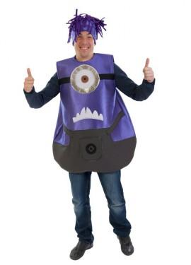 Disfraz Ayudante de villano con un ojo para adultos